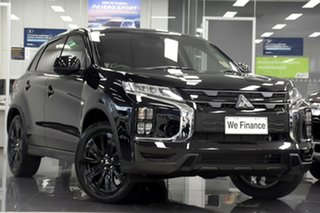 2020 Mitsubishi ASX XD MY21 MR 2WD Black 1 Speed Constant Variable Wagon