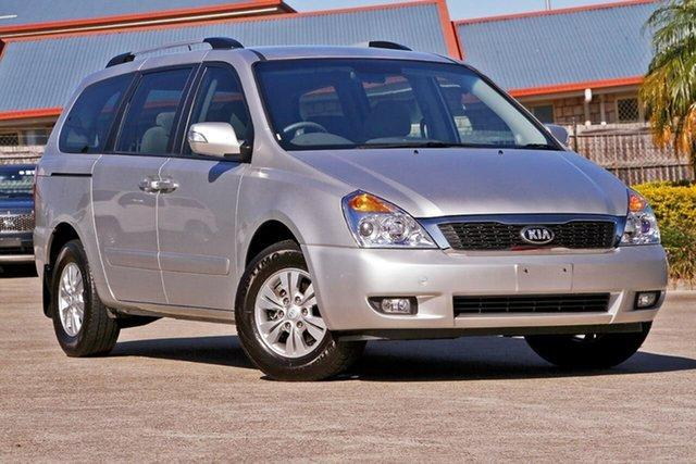 Used Kia Grand Carnival VQ MY14 SI, 2014 Kia Grand Carnival VQ MY14 SI Silver 6 Speed Sports Automatic Wagon