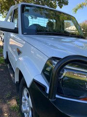 2018 Mahindra Pik-Up MY18 S6 White 6 Speed Manual Cab Chassis