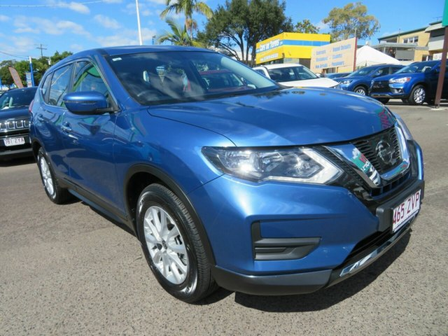 Used Nissan X-Trail T32 Series II ST X-tronic 2WD, 2019 Nissan X-Trail T32 Series II ST X-tronic 2WD Blue 7 Speed Constant Variable Wagon