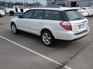 2007 Subaru Outback B4A MY07 AWD White 4 Speed Sports Automatic Wagon
