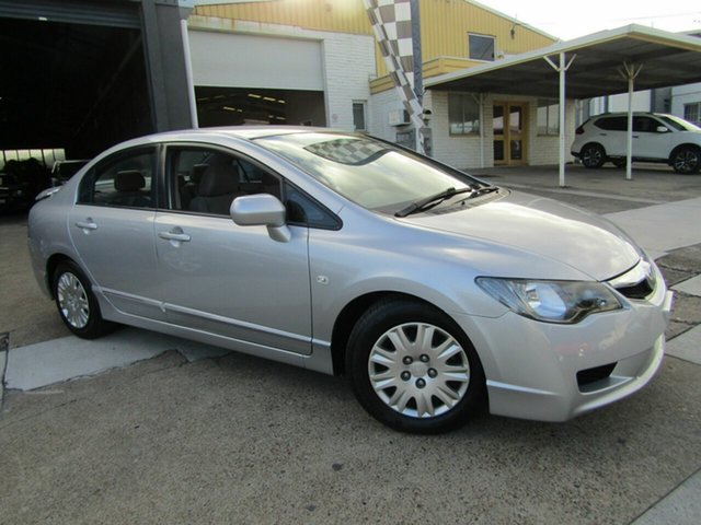 Used Honda Civic 8th Gen MY09 VTi Moorooka, 2009 Honda Civic 8th Gen MY09 VTi Silver 5 Speed Automatic Sedan