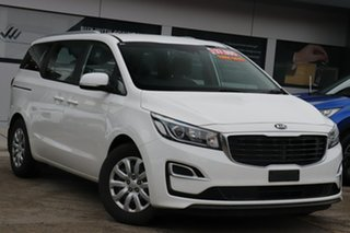 2018 Kia Carnival YP MY18 SI White 6 Speed Sports Automatic Wagon.