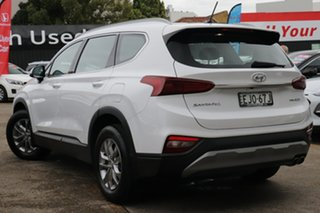 2018 Hyundai Santa Fe TM Active CRDi (AWD) White 8 Speed Automatic Wagon.
