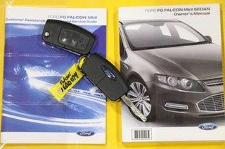 2012 Ford Falcon FG MK2 XR6 Limited Edition Silhouette 6 Speed Auto Seq Sportshift Sedan