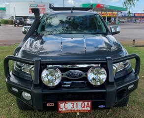 2016 Ford Ranger PX MkII XLT Super Cab Grey 6 Speed Manual Pick Up