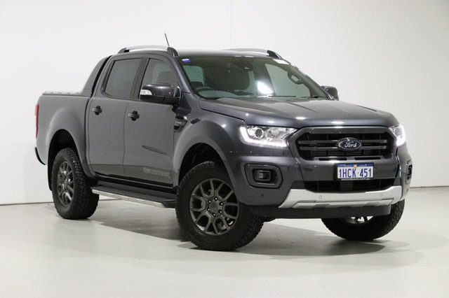 Used Ford Ranger PX MkIII MY19.75 Wildtrak 2.0 (4x4), 2019 Ford Ranger PX MkIII MY19.75 Wildtrak 2.0 (4x4) Grey 10 Speed Automatic Double Cab Pickup