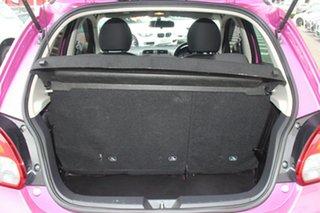 2013 Mitsubishi Mirage LA MY14 Sport Pink 5 Speed Manual Hatchback