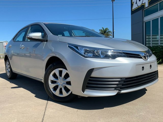 Used Toyota Corolla ZRE172R Ascent S-CVT, 2018 Toyota Corolla ZRE172R Ascent S-CVT Silver 7 Speed Constant Variable Sedan