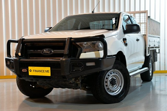 Used Ford Ranger PX MkII XL, 2017 Ford Ranger PX MkII XL White 6 Speed Manual Chassis