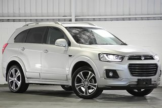 2018 Holden Captiva CG MY18 LTZ AWD Silver 6 Speed Sports Automatic Wagon.