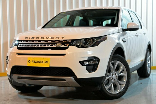 Used Land Rover Discovery Sport L550 17MY TD4 150 HSE, 2017 Land Rover Discovery Sport L550 17MY TD4 150 HSE White 9 Speed Sports Automatic Wagon