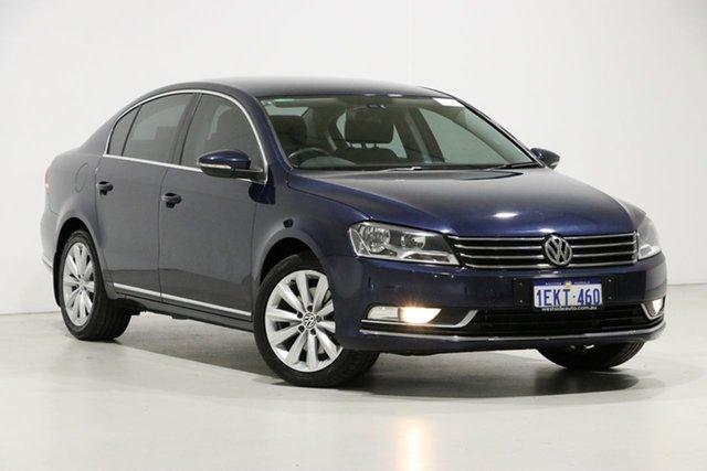 Used Volkswagen Passat 3C MY14 118 TSI, 2014 Volkswagen Passat 3C MY14 118 TSI Blue 7 Speed Auto Direct Shift Sedan