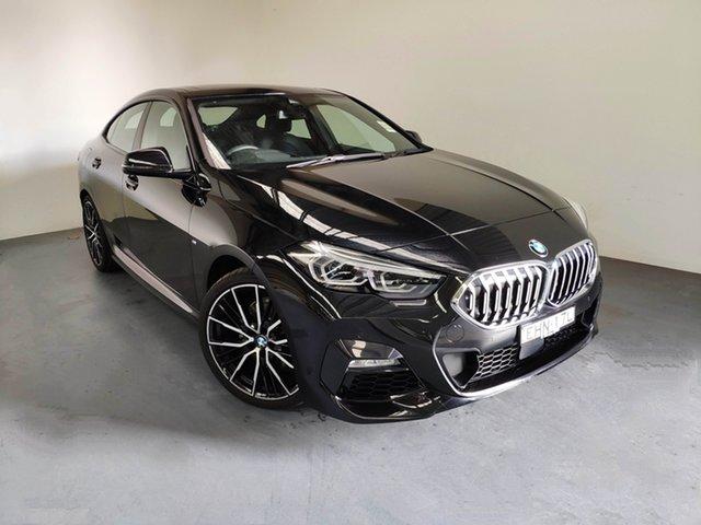 Demo BMW 218i F44 M Sport Gran Coupe D-CT, 2019 BMW 218i F44 M Sport Gran Coupe D-CT Black Sapphire 7 Speed Sports Automatic Dual Clutch Sedan