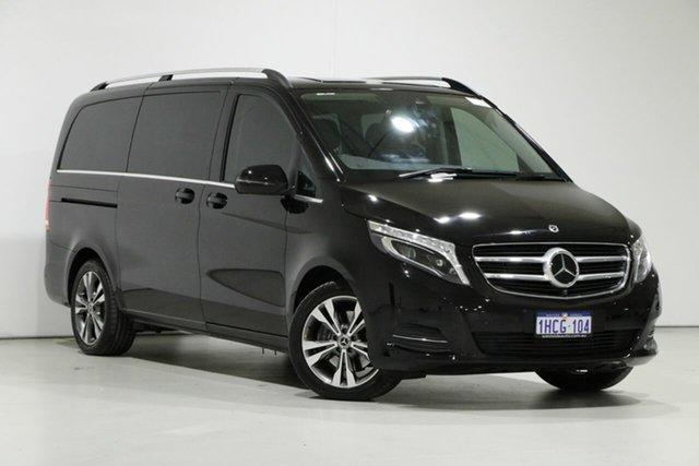 Used Mercedes-Benz V250d 447 MY20 Avantgarde MWB, 2019 Mercedes-Benz V250d 447 MY20 Avantgarde MWB Obsidian Black 7 Speed Automatic G-Tronic Wagon