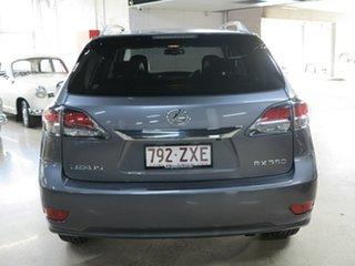 2012 Lexus RX GGL15R MY12 RX350 Luxury Grey 6 Speed Sports Automatic Wagon