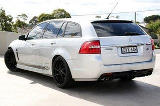 2016 Holden Commodore VF II MY16 SS Sportwagon Black Silver 6 Speed Sports Automatic Wagon.