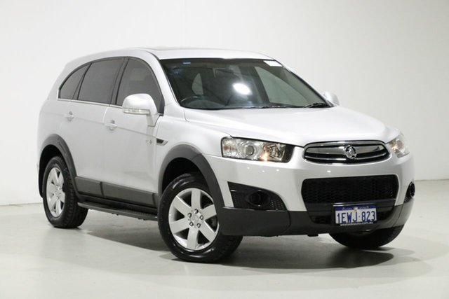 Used Holden Captiva CG MY13 7 SX (FWD), 2013 Holden Captiva CG MY13 7 SX (FWD) Silver 6 Speed Automatic Wagon