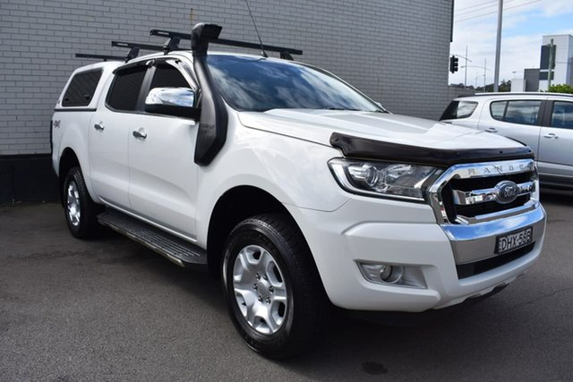 Used Ford Ranger PX MkII XLT Super Cab, 2016 Ford Ranger PX MkII XLT Super Cab White 6 Speed Manual Utility