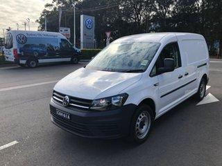 2019 Volkswagen Caddy 2KN MY20 TSI220 Maxi DSG White 7 Speed Sports Automatic Dual Clutch Van.