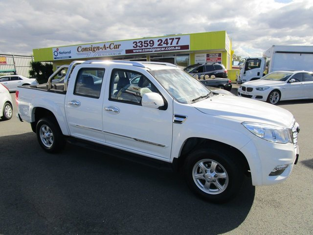 Used Great Wall Steed NBP 4x2, 2017 Great Wall Steed NBP 4x2 White 6 Speed Manual Utility