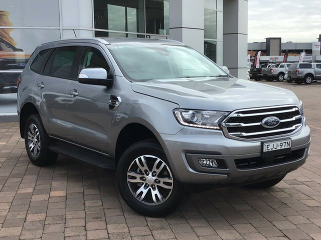 Used Ford Everest UA II 2019.00MY Trend, 2019 Ford Everest UA II 2019.00MY Trend Aluminium 10 Speed Sports Automatic SUV