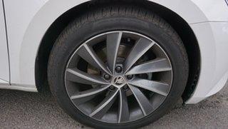 2018 Skoda Superb NP MY18.5 162TSI Sedan DSG White 6 Speed Sports Automatic Dual Clutch Liftback