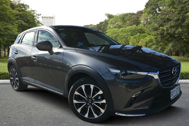 Demo Mazda CX-3 DK4W7A sTouring SKYACTIV-Drive i-ACTIV AWD, 2020 Mazda CX-3 DK4W7A sTouring SKYACTIV-Drive i-ACTIV AWD Machine Grey 6 Speed Sports Automatic