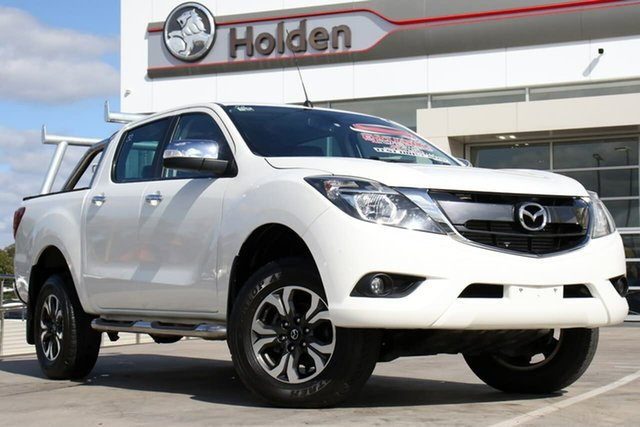 Used Mazda BT-50 UR0YG1 GT, 2017 Mazda BT-50 UR0YG1 GT White 6 Speed Sports Automatic Utility