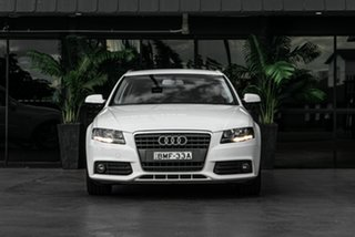 2009 Audi A4 B8 8K MY10 Avant Multitronic White 8 Speed Constant Variable Wagon.