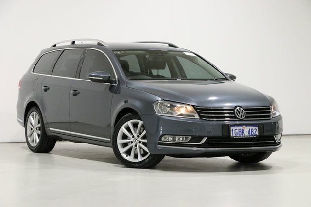 Used Volkswagen Passat 3C MY14 130 TDI Highline, 2014 Volkswagen Passat 3C MY14 130 TDI Highline Grey 6 Speed Direct Shift Wagon