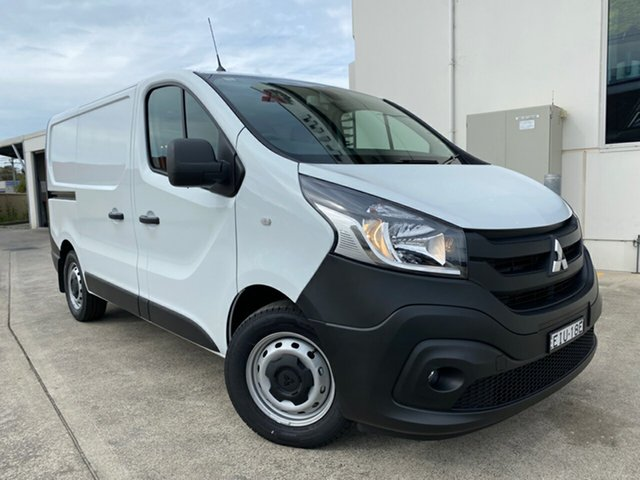 Demo Mitsubishi Express SN MY21 GLX SWB DCT, 2020 Mitsubishi Express SN MY21 GLX SWB DCT White 6 Speed Sports Automatic Dual Clutch Van