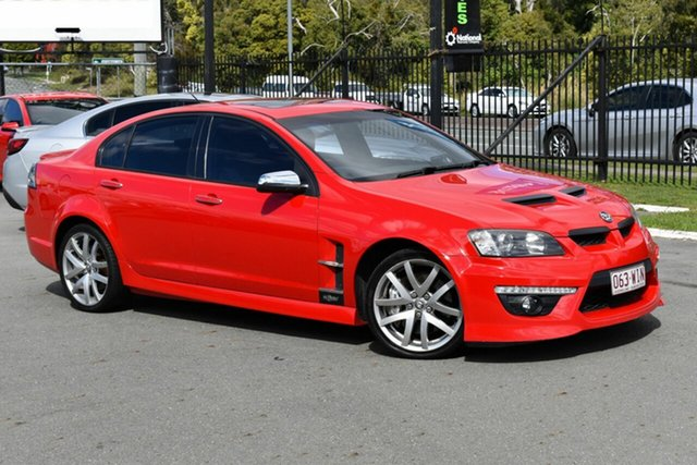Used Holden Special Vehicles ClubSport E2 Series GXP, 2010 Holden Special Vehicles ClubSport E2 Series GXP Red 6 Speed Auto Active Sequential Sedan