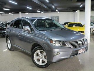2012 Lexus RX GGL15R MY12 RX350 Luxury Grey 6 Speed Sports Automatic Wagon.