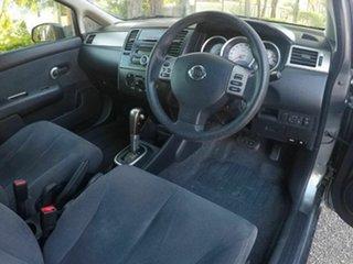 2011 Nissan Tiida C11 Series 3 MY10 ST Grey 4 Speed Automatic Sedan
