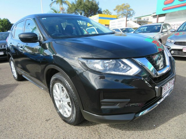 Used Nissan X-Trail T32 Series II ST X-tronic 4WD, 2018 Nissan X-Trail T32 Series II ST X-tronic 4WD Black 7 Speed Constant Variable Wagon