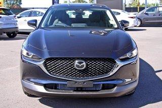 2020 Mazda CX-30 DM2W7A G20 SKYACTIV-Drive Evolve Deep Crystal Blue 6 Speed Sports Automatic Wagon.
