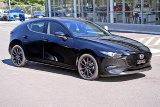 2020 Mazda 3 300N X20 Astina M Hybrid Jet Black 6 Speed Automatic Hatchback.
