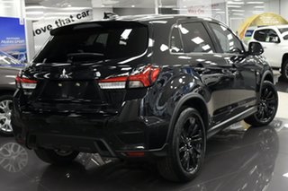 2021 Mitsubishi ASX XD MY21 MR 2WD Black 1 Speed Constant Variable Wagon.