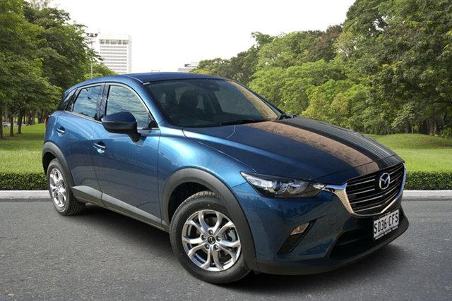 Demo Mazda CX-3 DK4W7A Maxx SKYACTIV-Drive i-ACTIV AWD Sport, 2020 Mazda CX-3 DK4W7A Maxx SKYACTIV-Drive i-ACTIV AWD Sport Eternal Blue 6 Speed Sports Automatic