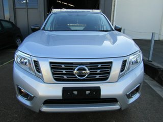 2016 Nissan Navara D23 DX 4x2 Silver 6 Speed Manual Cab Chassis