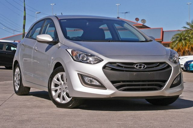 Used Hyundai i30 GD3 Series II MY16 Active DCT, 2014 Hyundai i30 GD3 Series II MY16 Active DCT Silver 7 Speed Sports Automatic Dual Clutch Hatchback