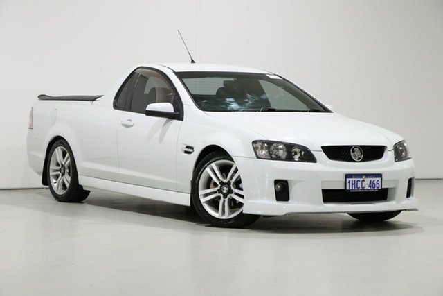 Used Holden Commodore VE MY10 SV6, 2009 Holden Commodore VE MY10 SV6 White 6 Speed Manual Utility
