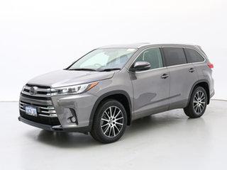 2018 Toyota Kluger GSU55R MY18 Grande (4x4) Grey 8 Speed Automatic Wagon.