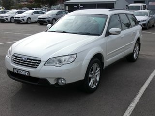 2007 Subaru Outback B4A MY07 AWD White 4 Speed Sports Automatic Wagon.