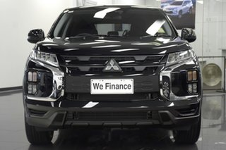 2020 Mitsubishi ASX XD MY20 MR 2WD Black 1 Speed Constant Variable Wagon
