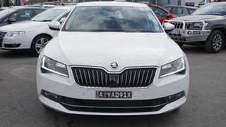 2018 Skoda Superb NP MY18.5 162TSI Sedan DSG White 6 Speed Sports Automatic Dual Clutch Liftback.