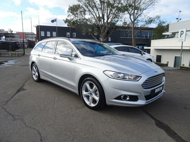 Used Ford Mondeo MD 2017.50MY Trend PwrShift, 2017 Ford Mondeo MD 2017.50MY Trend PwrShift Moondust Silver 6 Speed Sports Automatic Dual Clutch