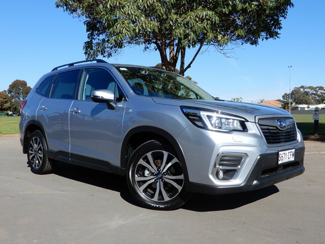 Used Subaru Forester S5 MY20 2.5i Premium CVT AWD, 2019 Subaru Forester S5 MY20 2.5i Premium CVT AWD Ice Silver 7 Speed Constant Variable Wagon
