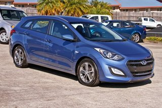 2015 Hyundai i30 GD Active Tourer Blue 6 Speed Sports Automatic Wagon.